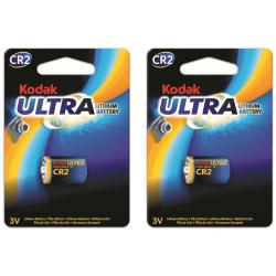 2st Batterier CR2 lithium Kodak