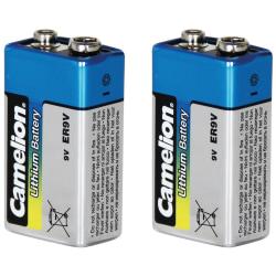9V Batteri Lithium Litium för brandvarnare Camelion 9 Volt