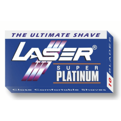 30-pack Laser Super Platinum Rakblad Dubbelrakblad