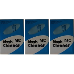 3st Putsduk Mikrofiber (blå) för glasögon,mobil,objektiv