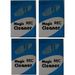4-pack Putsduk Mikrofiber REC Magic Cleaner, Blå