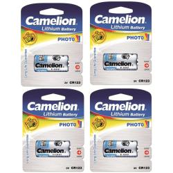 CR123A, CR123 Batteri 3V Litium Camelion Blå