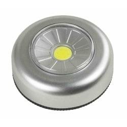 Batteridriven belysning LED spotlight lampa + 3st batterier Grafitgrå