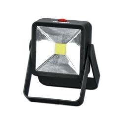Batteridriven LED arbetslampa floodlight  Svart