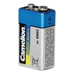 9V Batteri Lithium för brandvarnare Camelion 9 Volt Litium