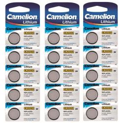 CR2032 15-pack Litium Batteri  Camelion Lithium