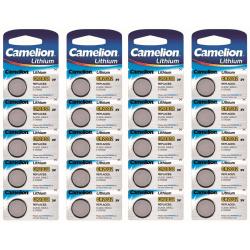 Camelion - Batteri Lithium CR2032 20-pack Litium