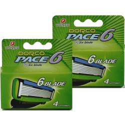 Dorco Pace6 rakblad 8st