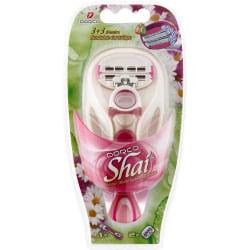 Dorco Shai rakhyvel +2 rakblad, 3+3 bladig för kvinnor, tjejer