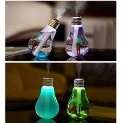 Aroma Diffuser i glödlampa med belysning USB
