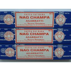 Nag Champa Satya Rökelse 15g  3/pack