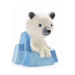 Sparbössa Isbjörn på isflak
