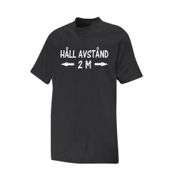 T-shirt HÅLL AVSTÅND L