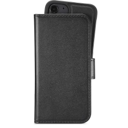 Holdit Plånboksväska Magnet iPhone 12 Mini Svart