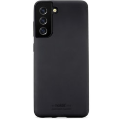 Holdit Silicone Case Galaxy S21 Black