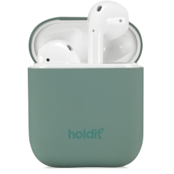 Holdit Silikonfodral Airpods Nygård Moss Green