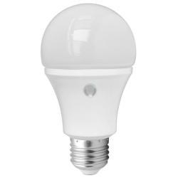 LED-Lampa 8W med skymningssensor E27