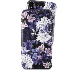Plånboksfodral Magnet iPhone Xs Max Stockholm Purple