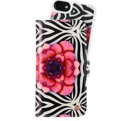 Plånboksväska med magnet iPhone 6/7/8/SE London Dahlia Dream