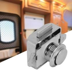 3pcs Car Boat Push Button Locks RV Cabinet Drawer Safety Lat