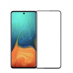 Heltäckande härdat skyddsglas / skärmskydd Samsung Galaxy A71