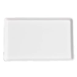 Rektangulär Tallrik - Upphöjd kant 6-pack