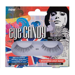 Eye Candy Classic Strip Lashes 011Intense lösögonfransar