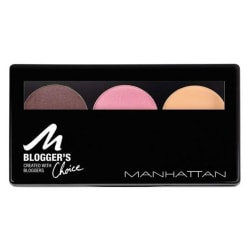 Manhattan Cosmetics Blogger & Choice Trio Eyeshadow ~ 3 Downtown