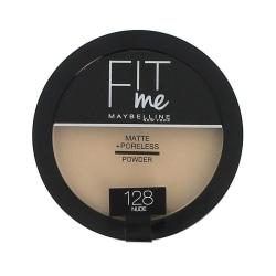 Maybelline Fit Me Matte & Poreless Pressed Powder 128 Nude