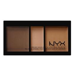 NYX Cream Highlight & Contour Palette Chcp03 Deep