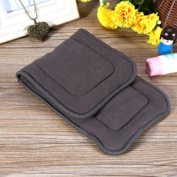 1PC Washable 5 Layers Bamboo Charcoal Cloth Nappy Liner Inco S