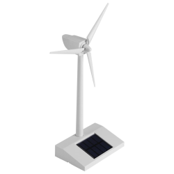 Mini Solar Energy Wind Mill Toy Kids Children Science Teachi
