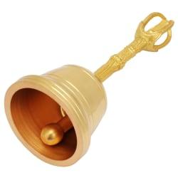 Popular Pure Brass Hand Bell Buddhist  Bell  Feng Shui Taois