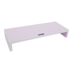 Screen Increase PC Monitor Desk Desk Shelf Stand Wood 3 Colo