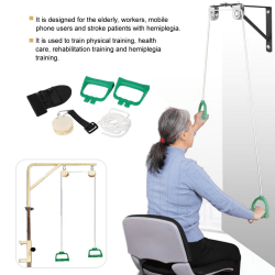 Shoulder Rehabilitation Training Kit Exercise Pulley Trainer