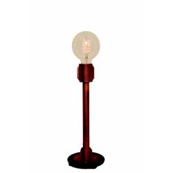 Bruksby lampa med koltrådslampa Svart