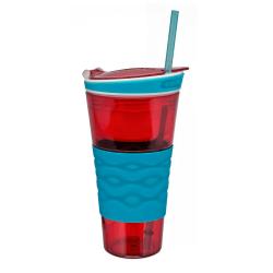 Snackeez Original röd/blå Röd