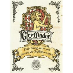Pergament - Harry Potter - Gryffindor Crest multifärg
