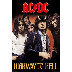 AC/DC - Highway To Hell multifärg