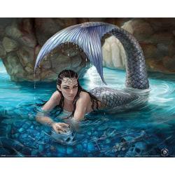 Anne Stokes - Hidden Depths, Sjöjungfru MultiColor