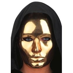 Ansiktsmask - Gold Metallic face - Eyes wide Shut multifärg