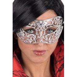 Ansiktsmask - Mask in ornament silver multifärg