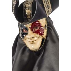 Ansiktsmask - White, gold, red and black Venetian mask multifärg