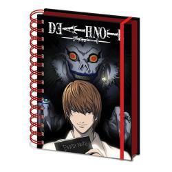 Anteckningsbok - Death Note - Shadow MultiColor