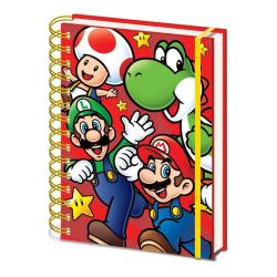 Anteckningsbok - Super Mario (Run) multifärg