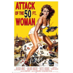 Attack of the 50ft woman multifärg