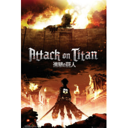 Attack on Titan - Key Art multifärg