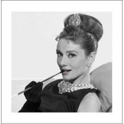 Audrey Hepburn - Cigarette MultiColor