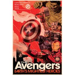 Avengers - Golden Age Hero Propaganda multifärg