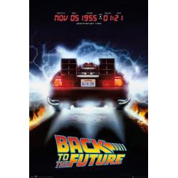 Back to the future - Delorean - Tillbaka till framtiden multifärg